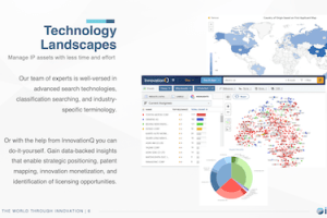 Using Patent Data to Drive Corporate Strategy – October 1, 2020