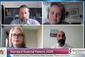SEP2020 – Global Licensing of Patent Portfolios After Unwired Planet and Sisvel – 11-10-2020