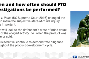 ClearstoneIP – Balancing Product Development & Patent Risk – Sep 22, 2021