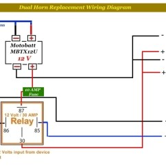 Wiring Diagram For 12 Volt Relay Gmc Canyon Stereo Horn Best Data Connections 1969 Chevrolet Likewise