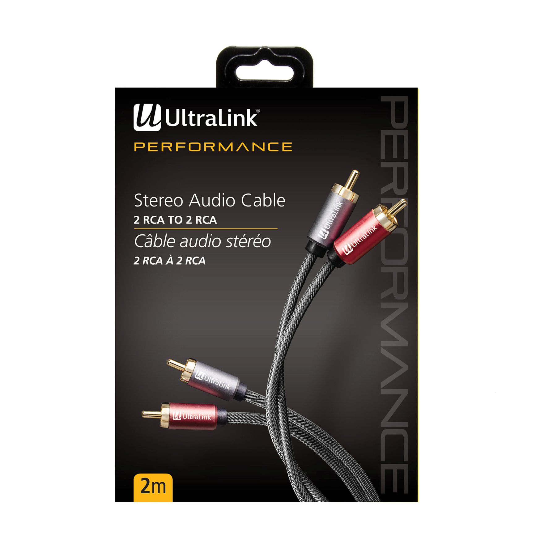 hight resolution of 2m audio cable rca to rca ultralink performance