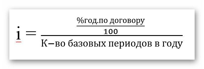 Расчёт базовой процентной ставки - формула | Блог Олег и Ко