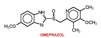 Resultado de imagen de molécula omeprazol