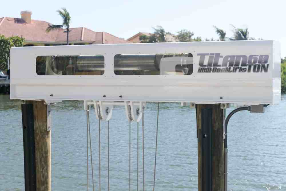 medium resolution of boat lift maintenance image patented technology titan beam on https