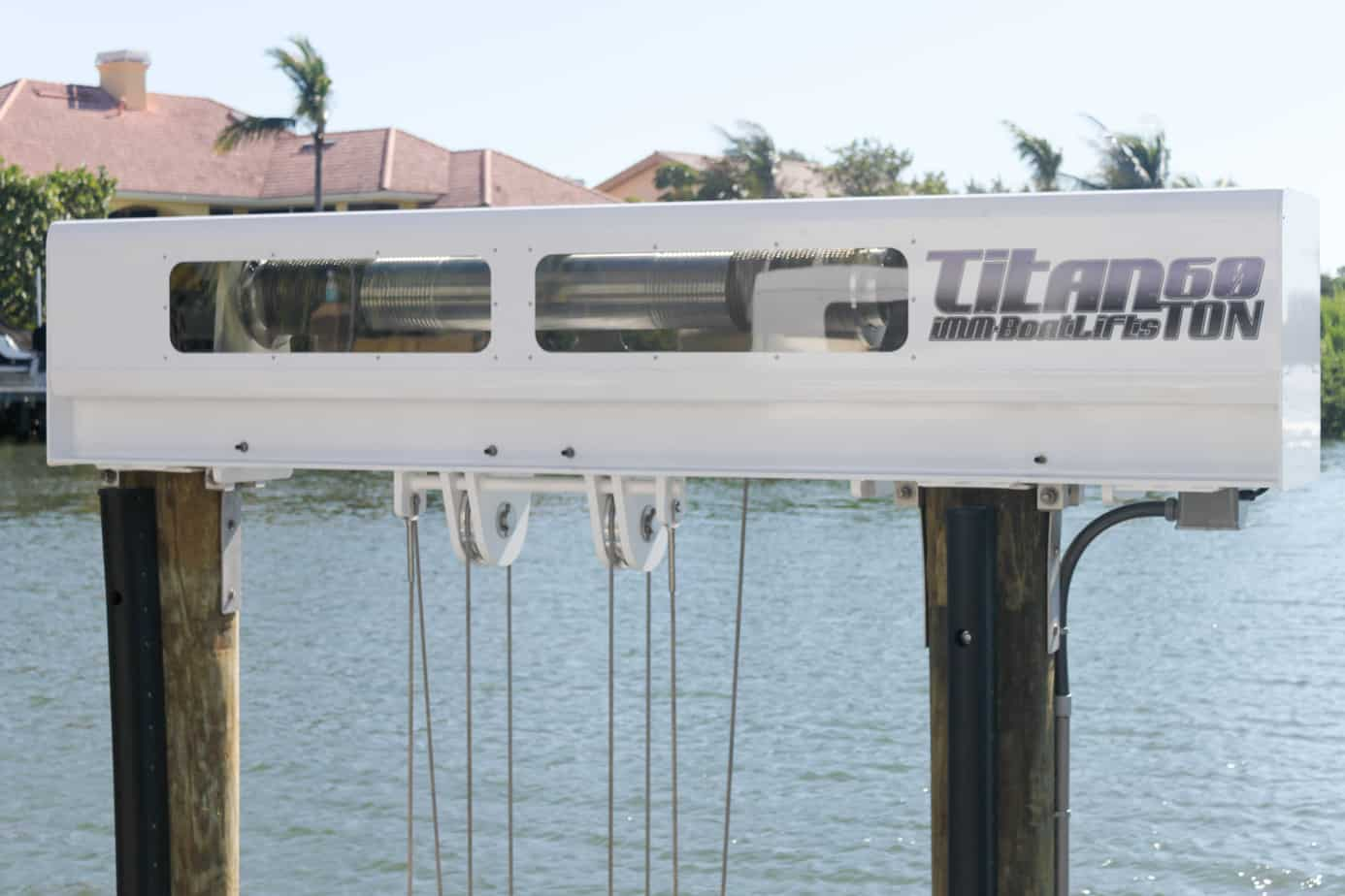 hight resolution of boat lift maintenance image patented technology titan beam on https