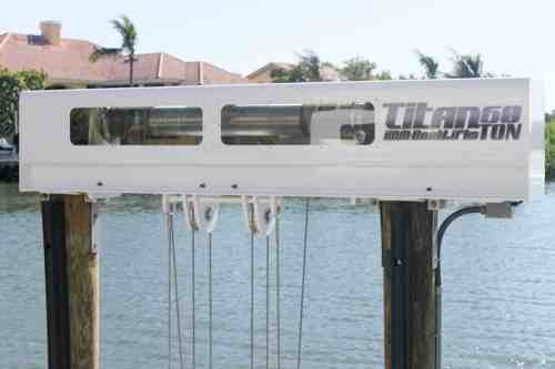 small resolution of boat lift maintenance image patented technology titan beam on https