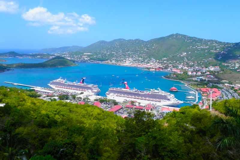 St Thomas USVI Charlotte Amalie Cruise Port Guide