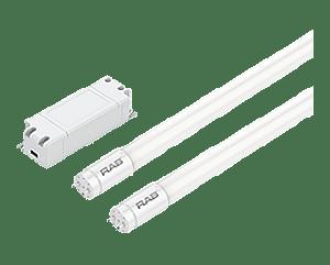 RAB Lighting T8-26-48G-840-EXT-2L-DIM LED 2x13W T8 4ft