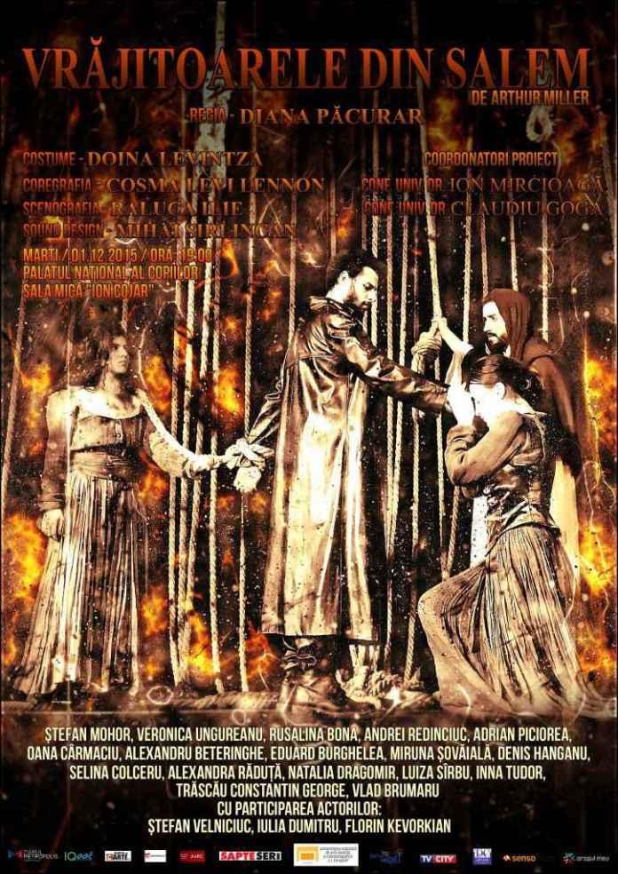 Vrajitoarele din Salem afis