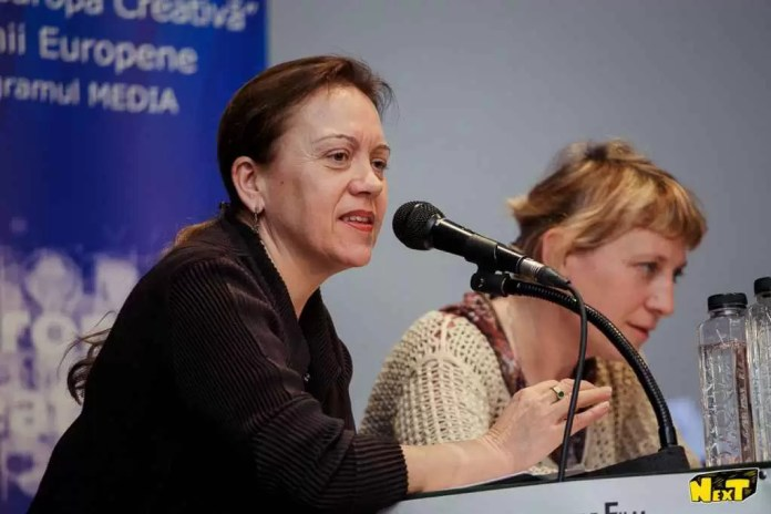 Lansare CinED_Léna Rouxel și Agnès Nordmann
