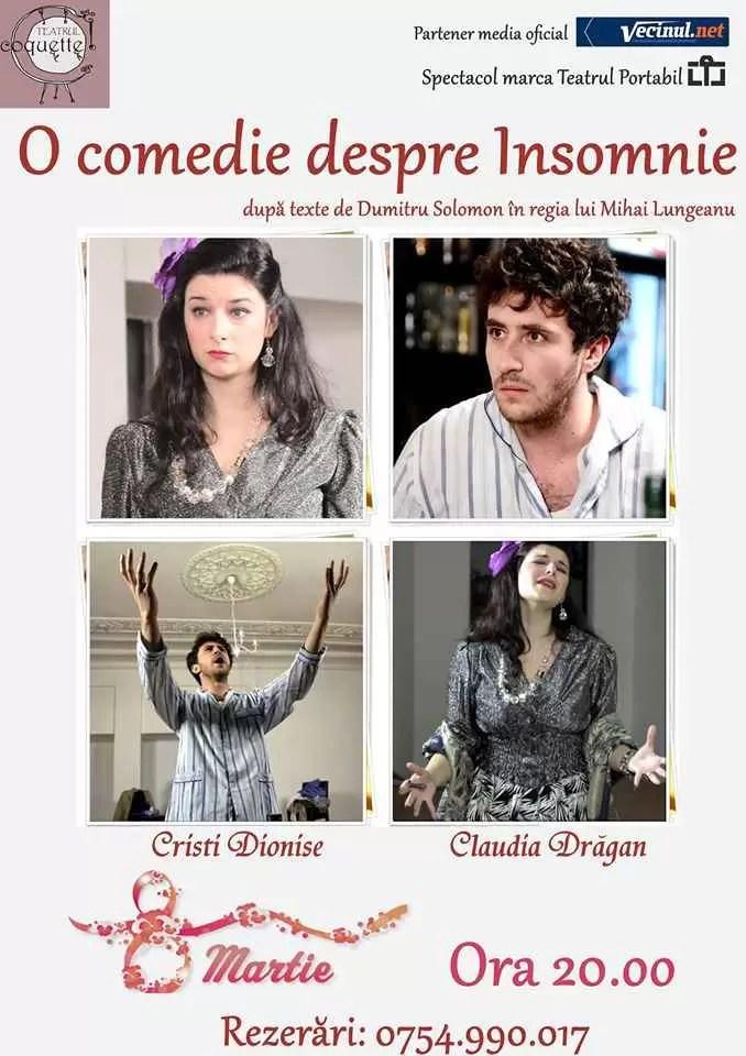 Afis Comedie Insomnie