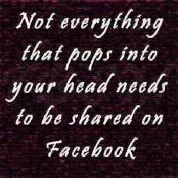 lucruri care nu ar trebui postate niciodată pe Facebook