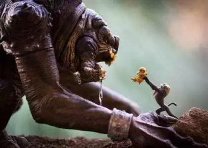 Fotograful care aduce jucăriile la viață - Lion King