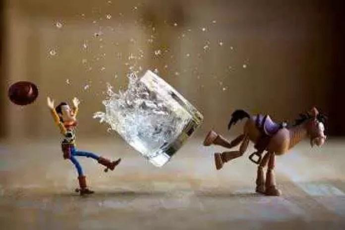 Fotograful care aduce jucăriile la viață - Toy Story