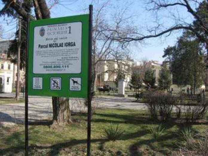 Parcul Nicolae Iorga de pe Calea Victoriei a fost scos la licitație