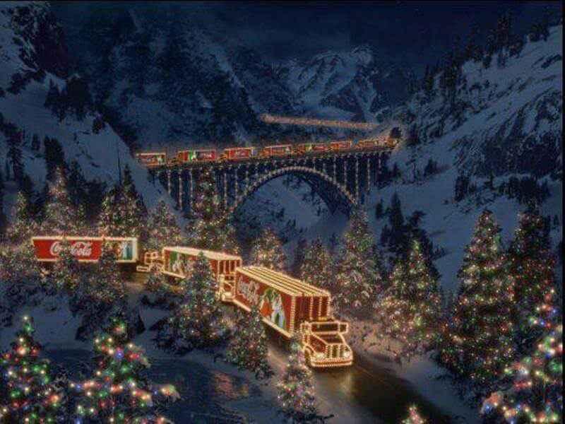 reclame de Crăciun