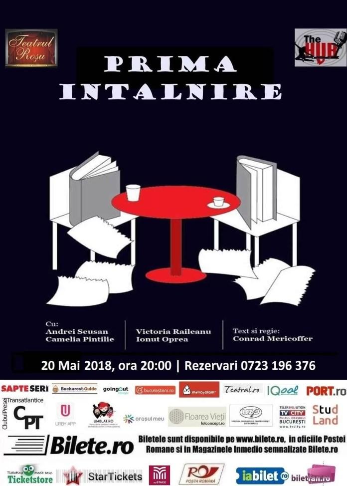 Programul pentru 18-20 mai la Teatrul Roșu
