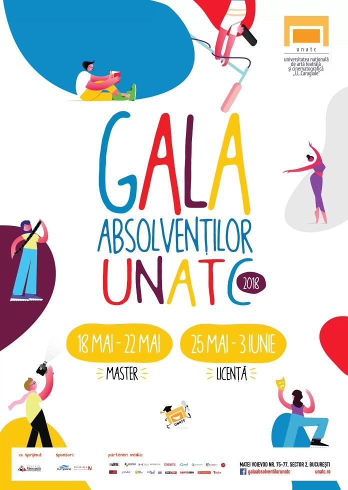 GALA ABSOLVENȚILOR UNATC 2018, noua generație de artiști la rampă