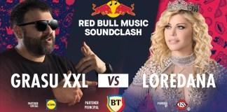 Red Bull Music SoundClash revine: Grasu XXL vs. Loredana la Sala Polivalentă