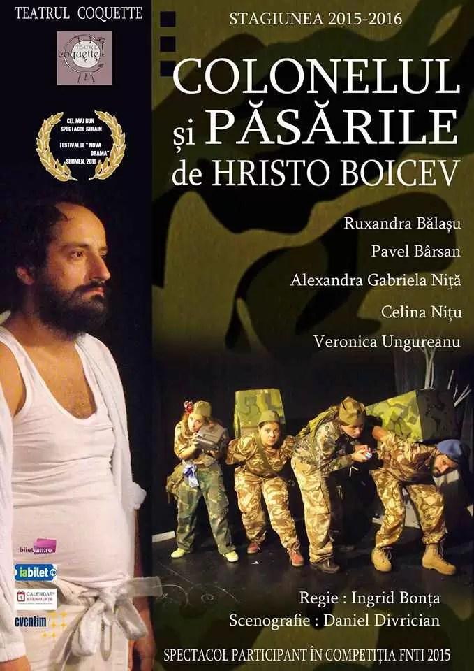 Afis Colonelul Pavel