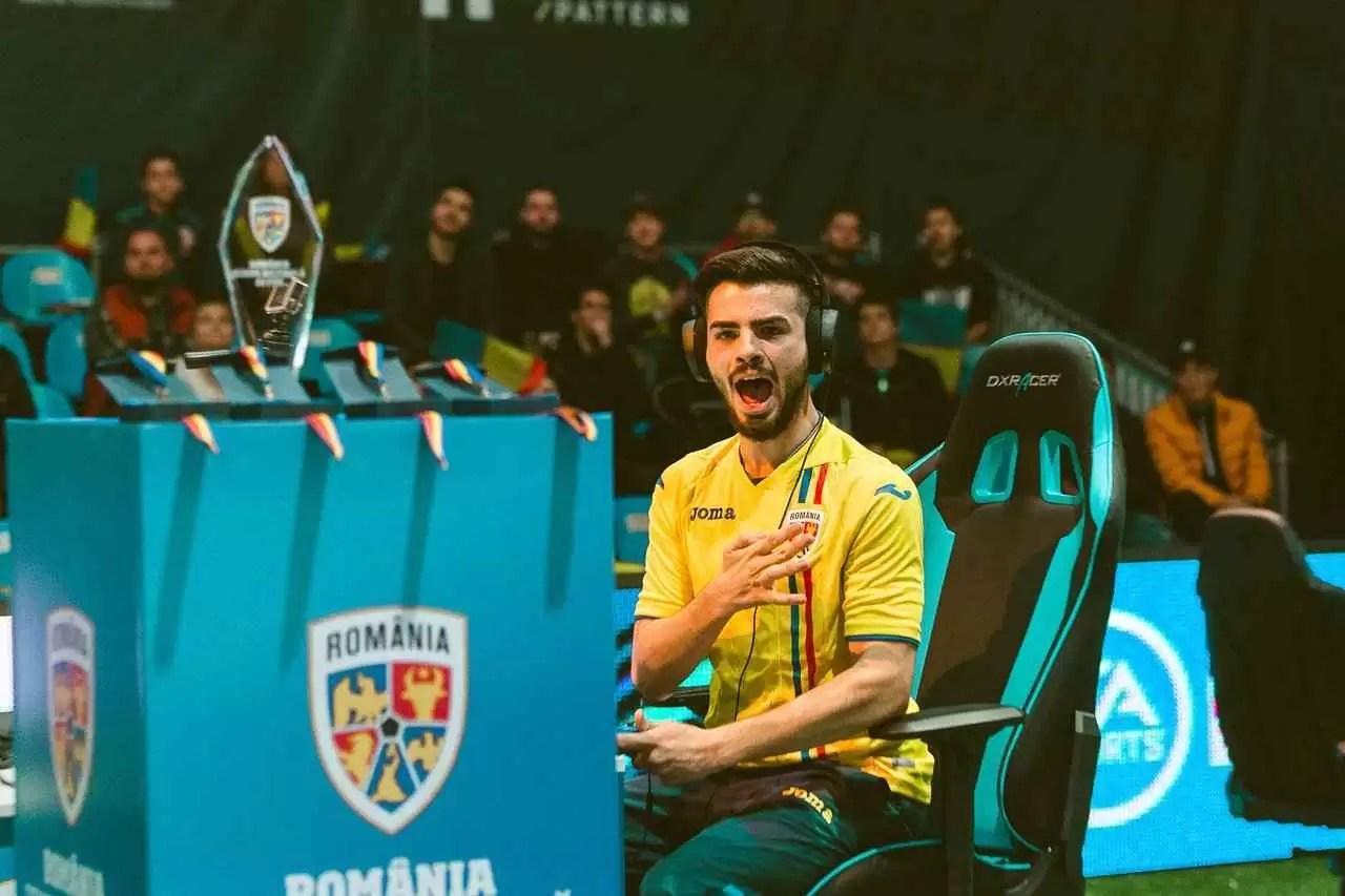 Bucharest Gaming Week Romania Football Team