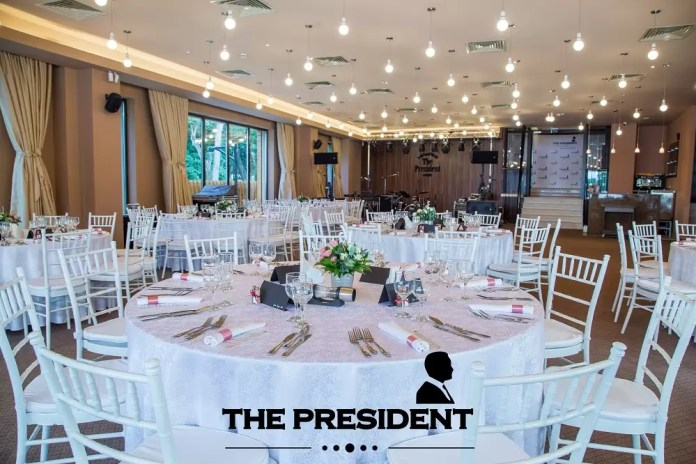 Centrul de Evenimente The President-afis