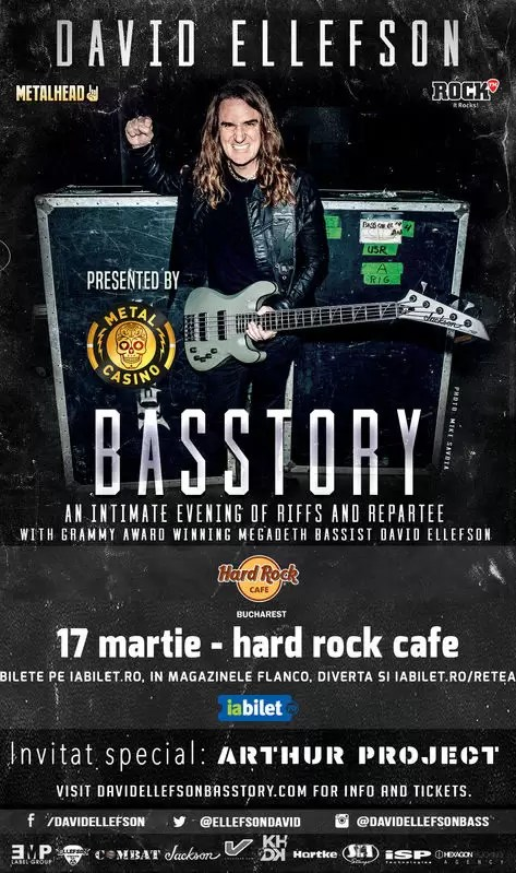 David Ellefson concert Hard Rock Cafe