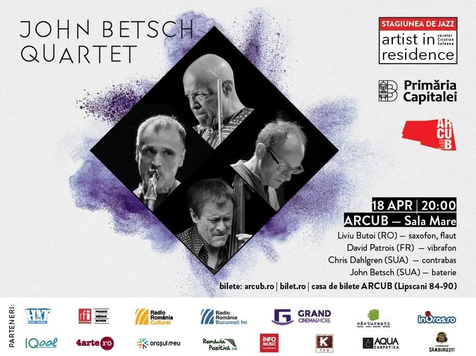 afis concert jazz 18 aprilie