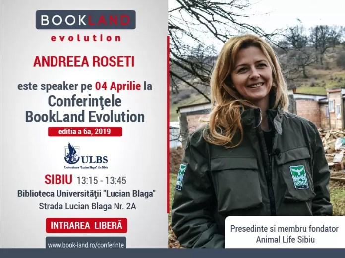Conferințele BookLand Evolution afis