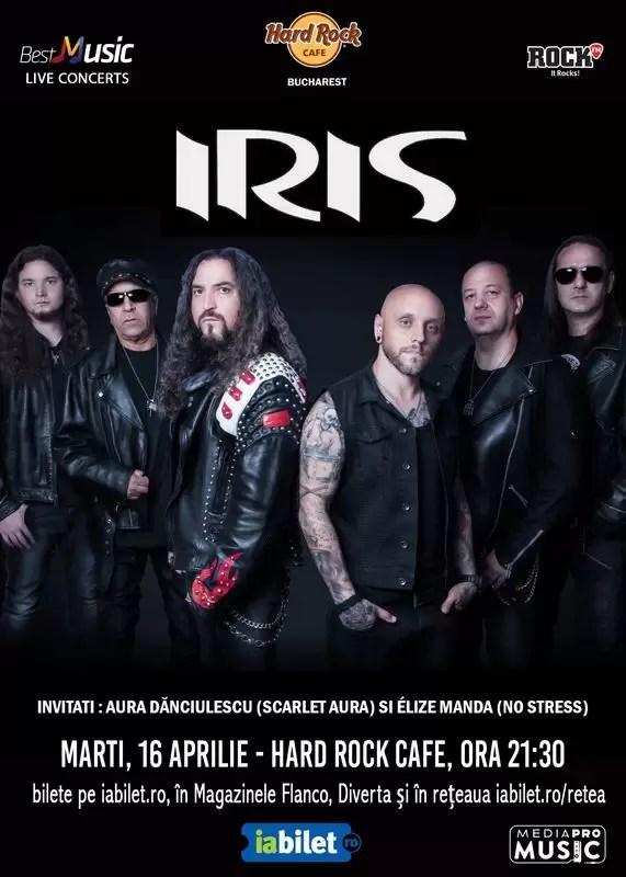 Concert IRIS Hard Rock Caffee