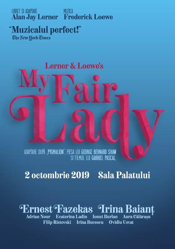 afiș Musicalul My Fair