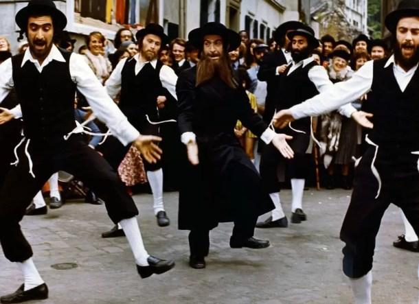 Aventurile Rabinului Jacob afiș