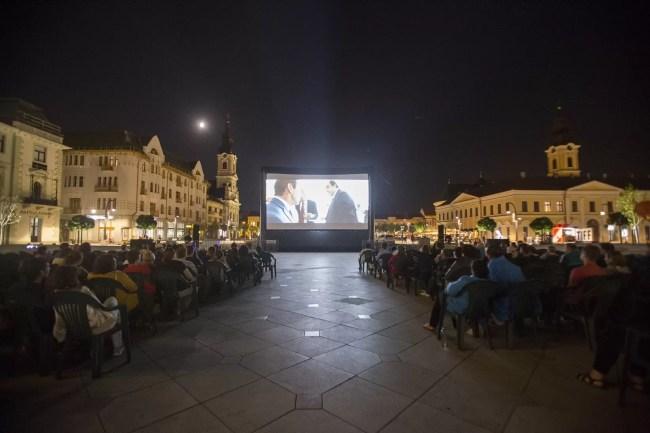 Piata Unirii - TIFF Oradea 2019 afiș