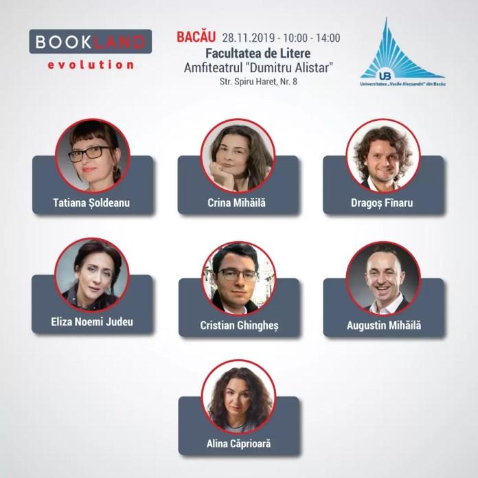 afis Conferințele Bookland Evolution