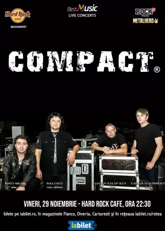 Hard Rock Cafe concert Compact