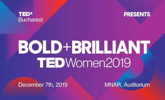 TEDxBucharestWomen afis