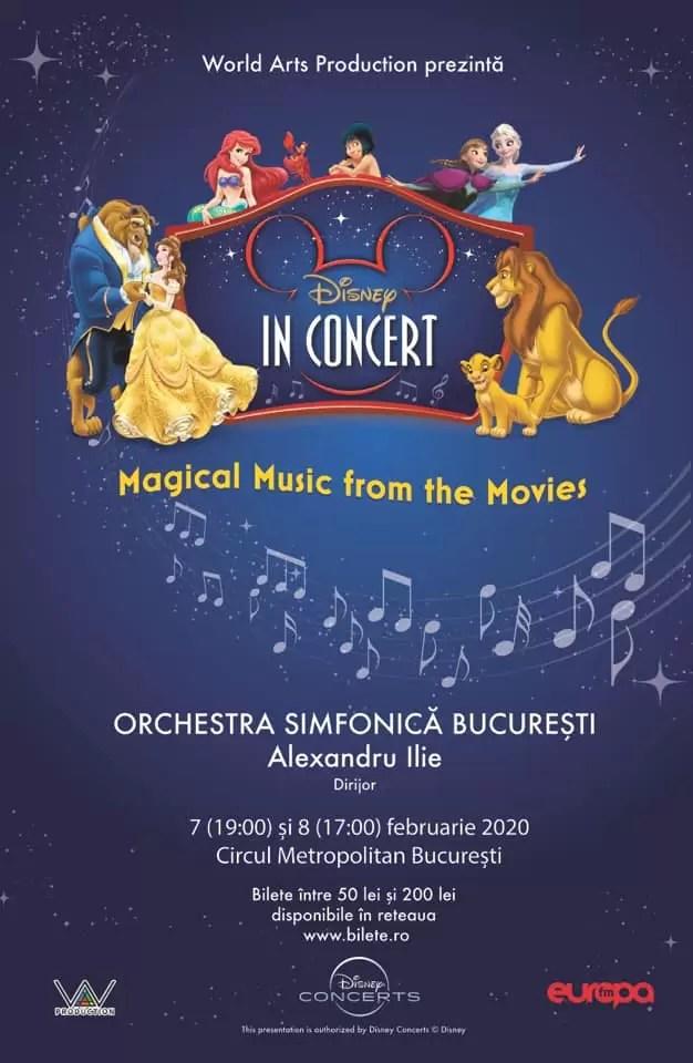 Disney in Concert afis
