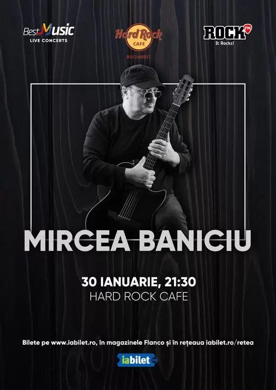 Mircea Baniciu afis