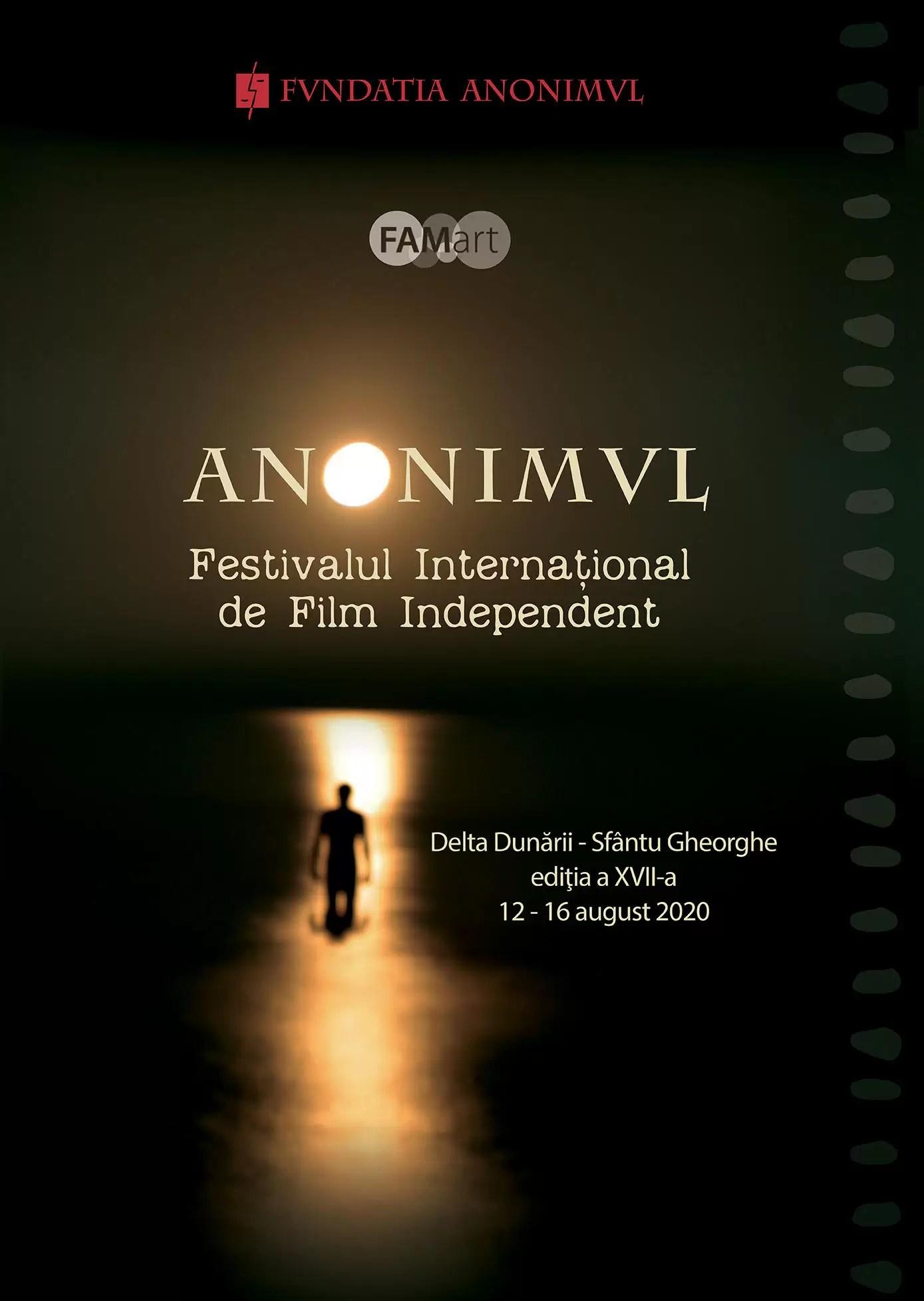Festivalul Internațional de Film Independent ANONIMUL, afis