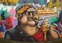 Banksy à la Cluj, un marinar al betoanelor