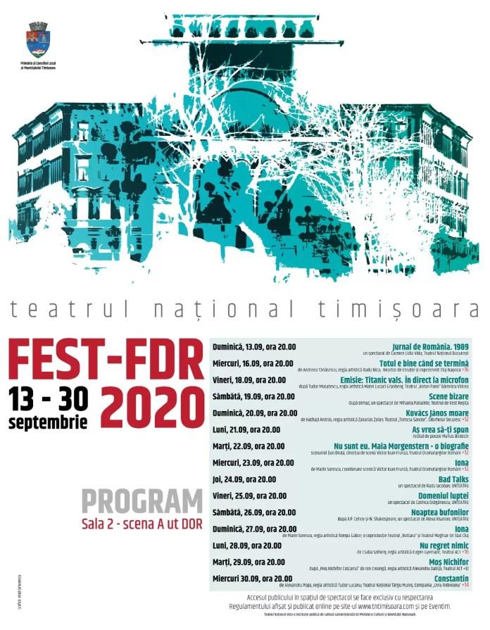 FEST-FDR 2020 afiș