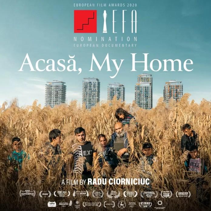 """Acasă"""", primul documentar românesc de debut afiș"""