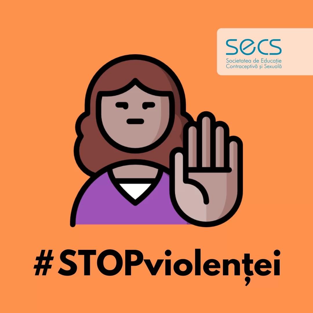 SECS spune campanie împotriva violenței afiș