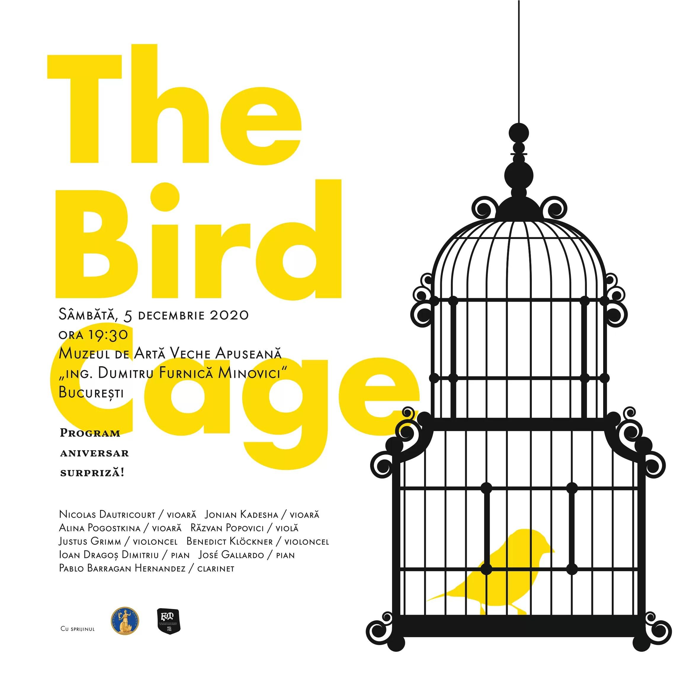 The Bird Cage SoNoRo afiș