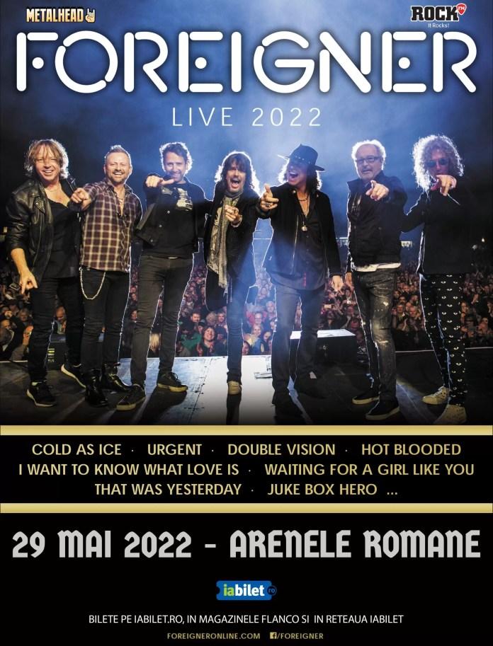 concert Foreigner