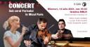 Concert in gradina MNLR