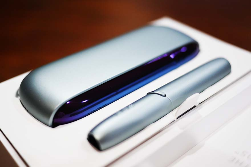 原裝正品IQOS 3.0 DUO Ultra Violet春季限量版 清醒藍綠色 日本代購