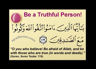 Be amongst the Truthful  IqraSensecom
