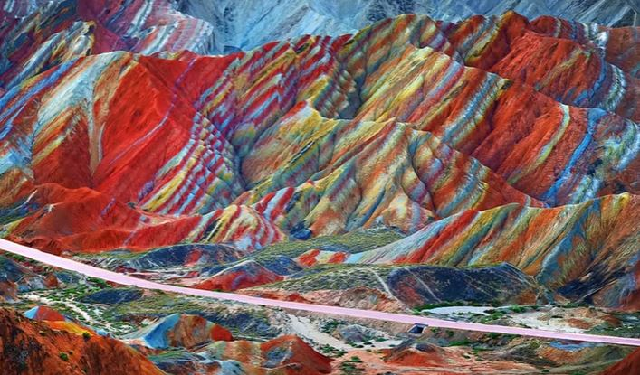 Chinas Rainbow Colored Mountains in the Quran  Surah