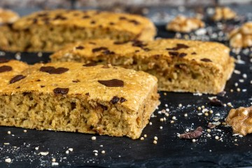 Cookie Dough Peanutbutter Chocolate Protein Bars